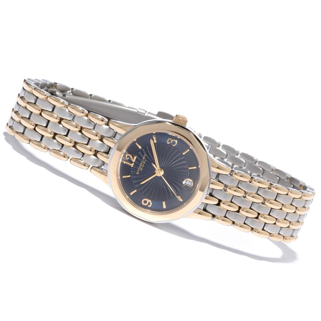 612-921 - Stührling Original Women's Marquis Classique Stainless Steel Bracelet Watch