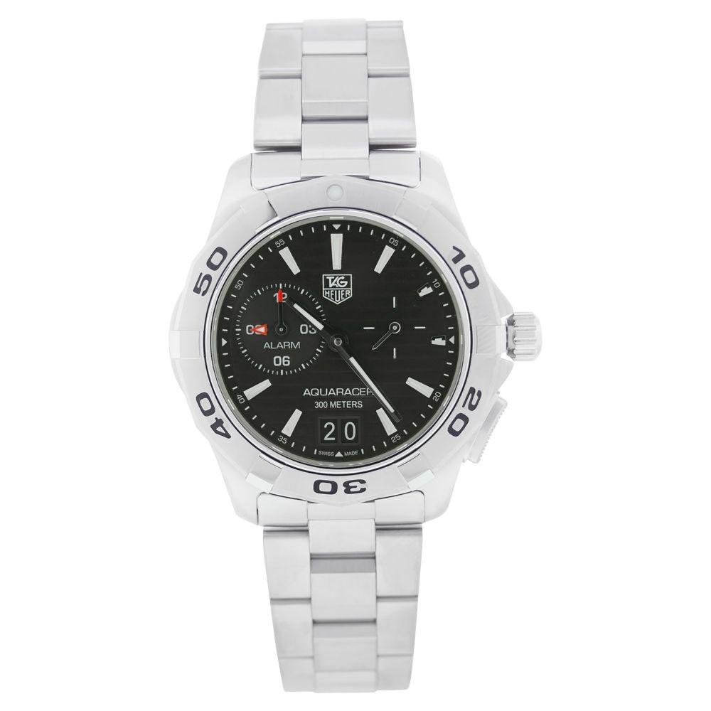 613-328 - Tag Heuer Men's Aquaracer Swiss Made Quartz Stainless Steel Bracelet Watch
