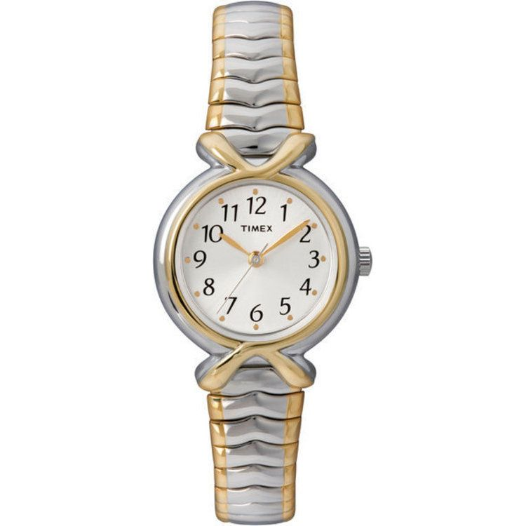 613-414 - Timex® Women's Easy Reader Quartz Two-tone Stainless Steel Bracelet Watch