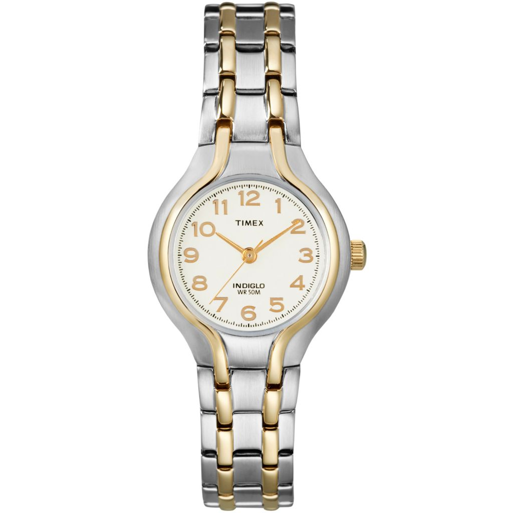 613-427 - Timex® Women's Dress Sports Quartz Stainless Steel Bracelet Watch