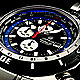 Deep Blue Men's World Timer