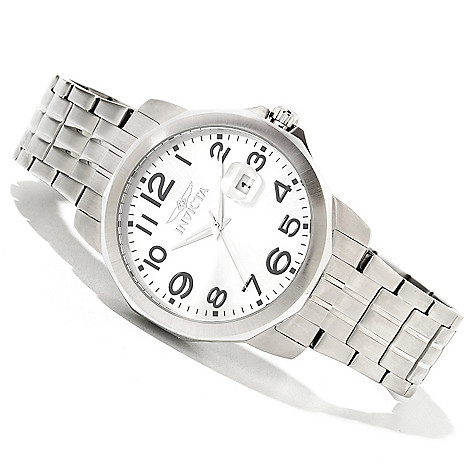 616-833 - Invicta Men's Specialty Quartz Stainless Steel Bracelet Watch