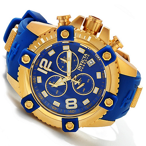 617-364 - Invicta Reserve Men's Arsenal Swiss Made Quartz Chronograph Polyurethane Strap Watch
