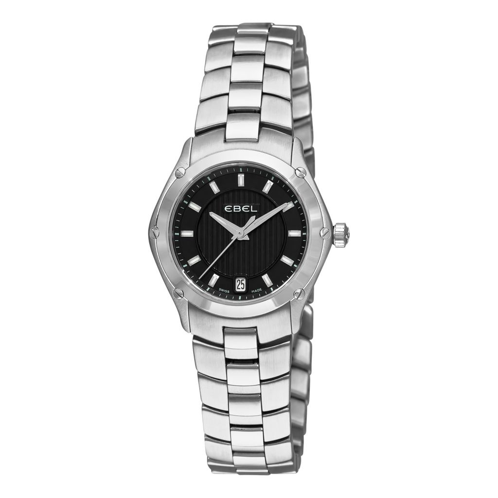 617-396 - Ebel Women's Classic Sport Swiss Made Quartz Stainless Steel Bracelet Watch