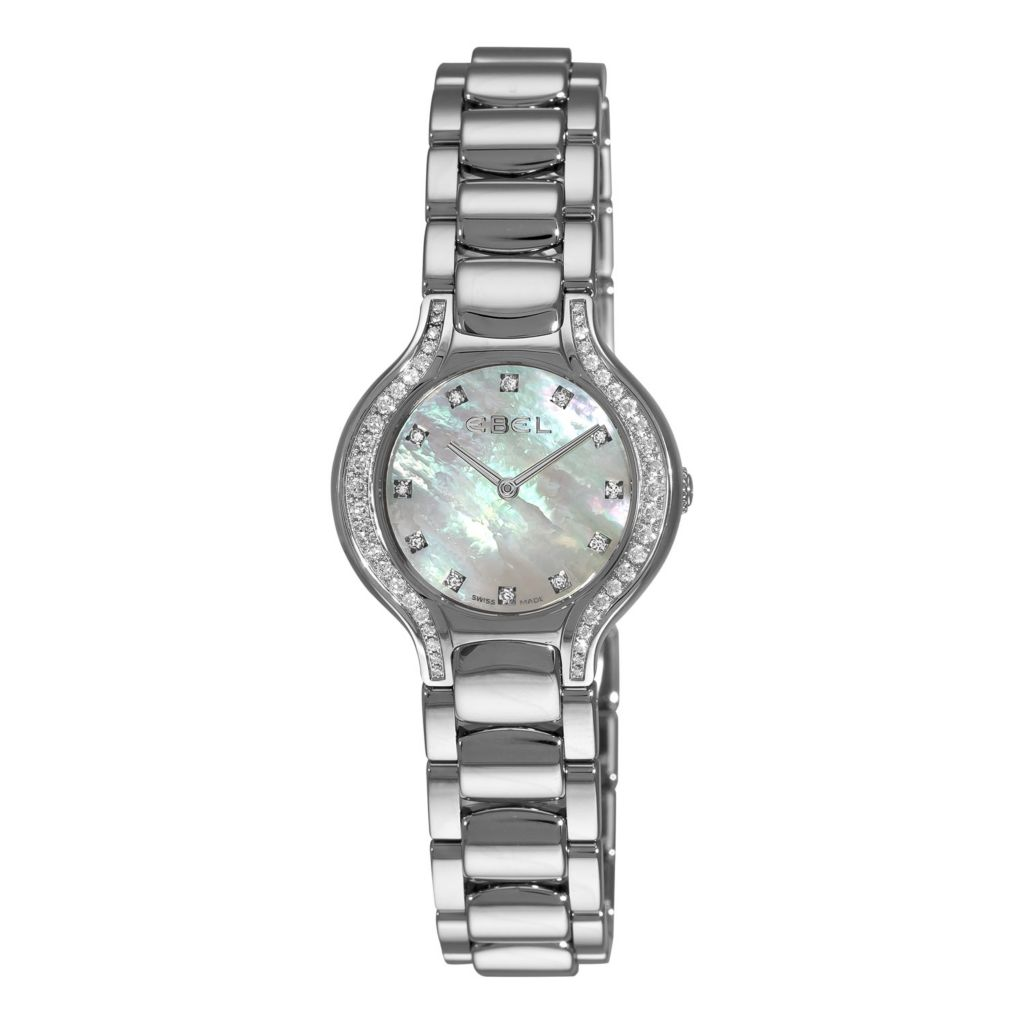 617-422 - Ebel Women's Beluga Swiss Made Quartz Stainless Steel Bracelet Watch