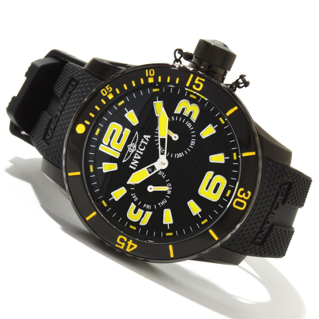 617-893 - Invicta Men's Corduba Diver Quartz Stainless Steel Polyurethane Strap Watch
