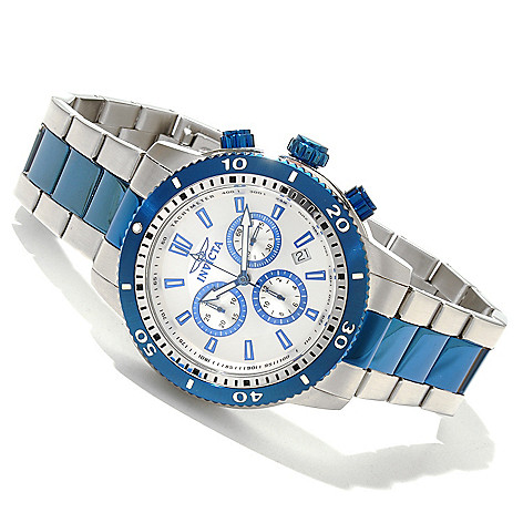 618-025 - Invicta Men's Specialty Classic Quartz Chronograph Stainless Steel Bracelet Watch