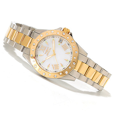 618-041 - Invicta Women's Angel Starlight Bracelet Watch Made w/ Swarovski® Elements