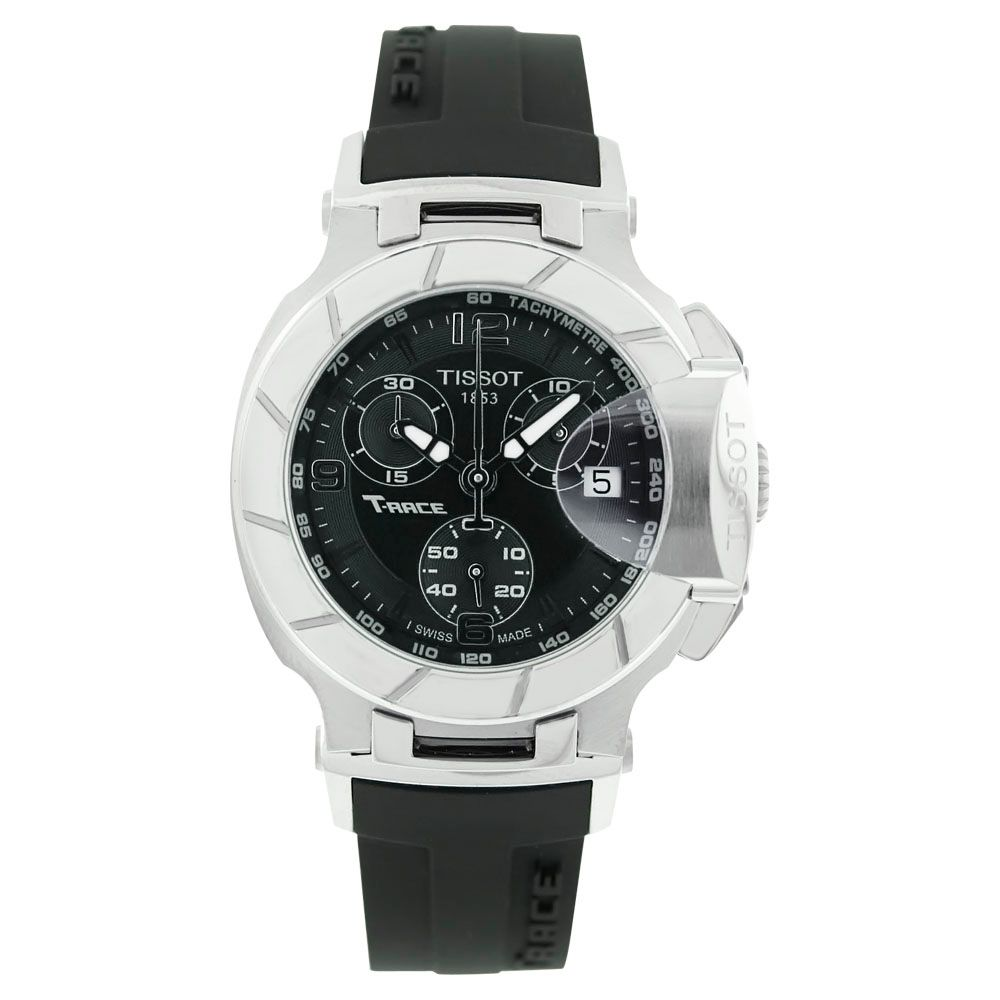 618-157 - Tissot Men's T-Race Swiss Made Quartz Chronograph Strap Watch