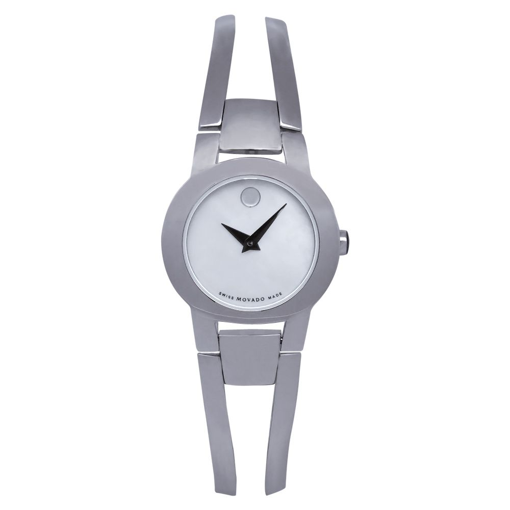 618-201 - Movado Women's Amorosa Swiss Made Quartz Stainless Steel Bracelet Watch