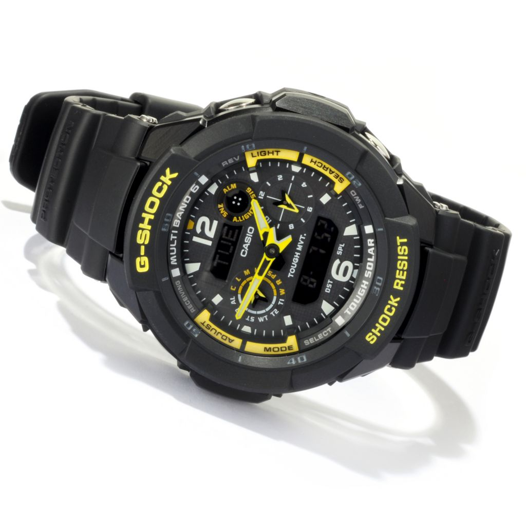 618-469 - Casio Men's G-Shock Quartz Chronograph Digital Alarm Strap Watch