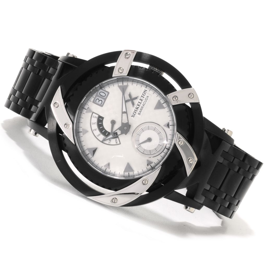 618-608 -  XO Skeleton 50mm Barracuda Limited Edition Swiss Made Quartz Bracelet Watch