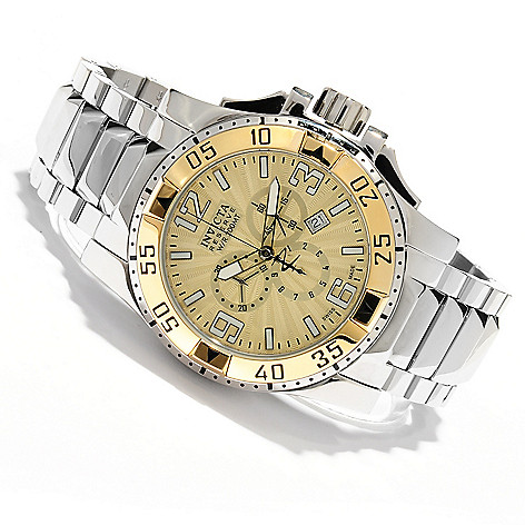 618-799 - Invicta Reserve Men's Excursion Swiss Quartz Chronograph Bracelet Watch