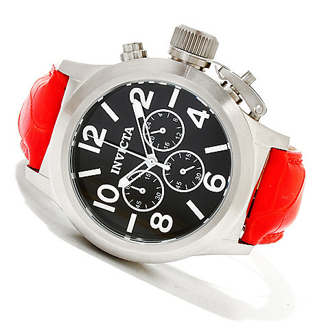 619-361 - Invicta Men's Corduba Quartz Chronograph Alligator Strap Watch