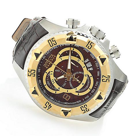 619-371 - Invicta Reserve Men's Excursion Elegant Touring Swiss Quartz Chronograph Watch