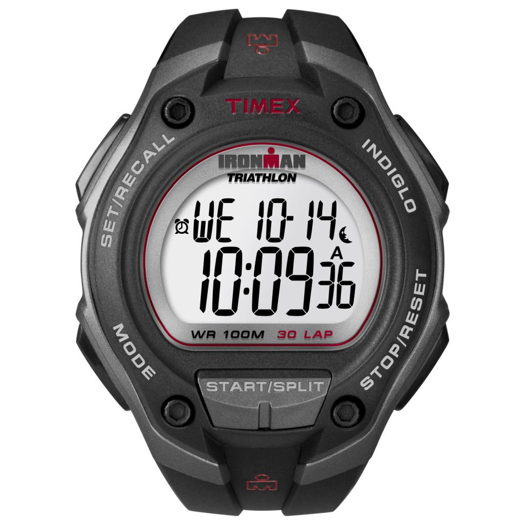 619-418 - Timex® 43mm Ironman Quartz 30-Lap Recall Oversized Digital Watch