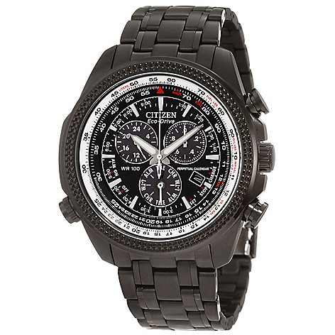 619-600 - Citizen Men's Eco-Drive Quartz Chronograph Perpetual Calendar Bracelet Watch