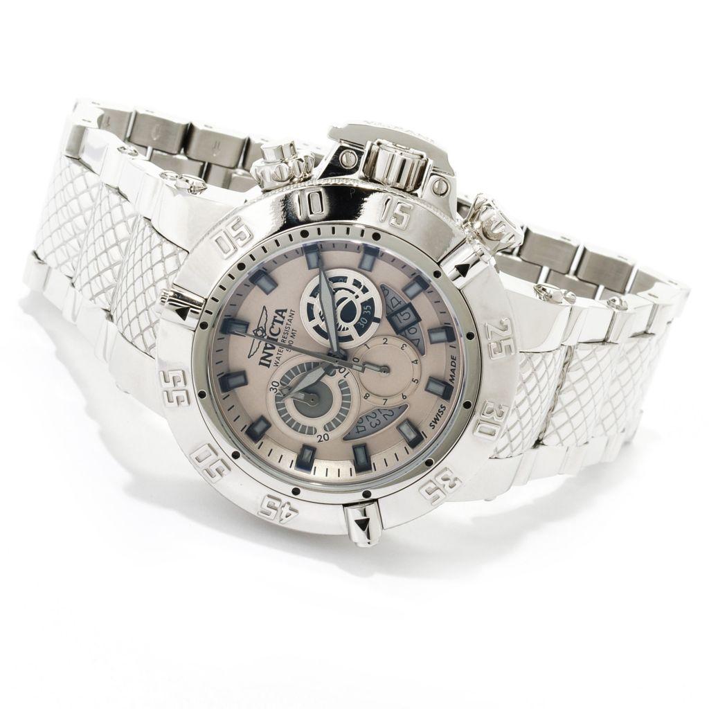 619-923 - Invicta Men's Subaqua Noma III Swiss Made Chronograph High Polish Stainless Steel Bracelet Watch
