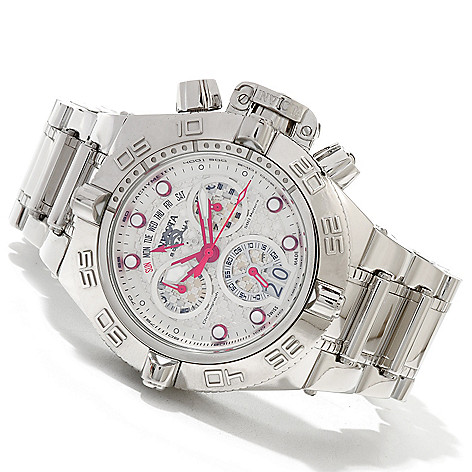 620-010 - Invicta Men's Subaqua Noma IV Swiss Quartz Chronograph High Polish Bracelet Watch