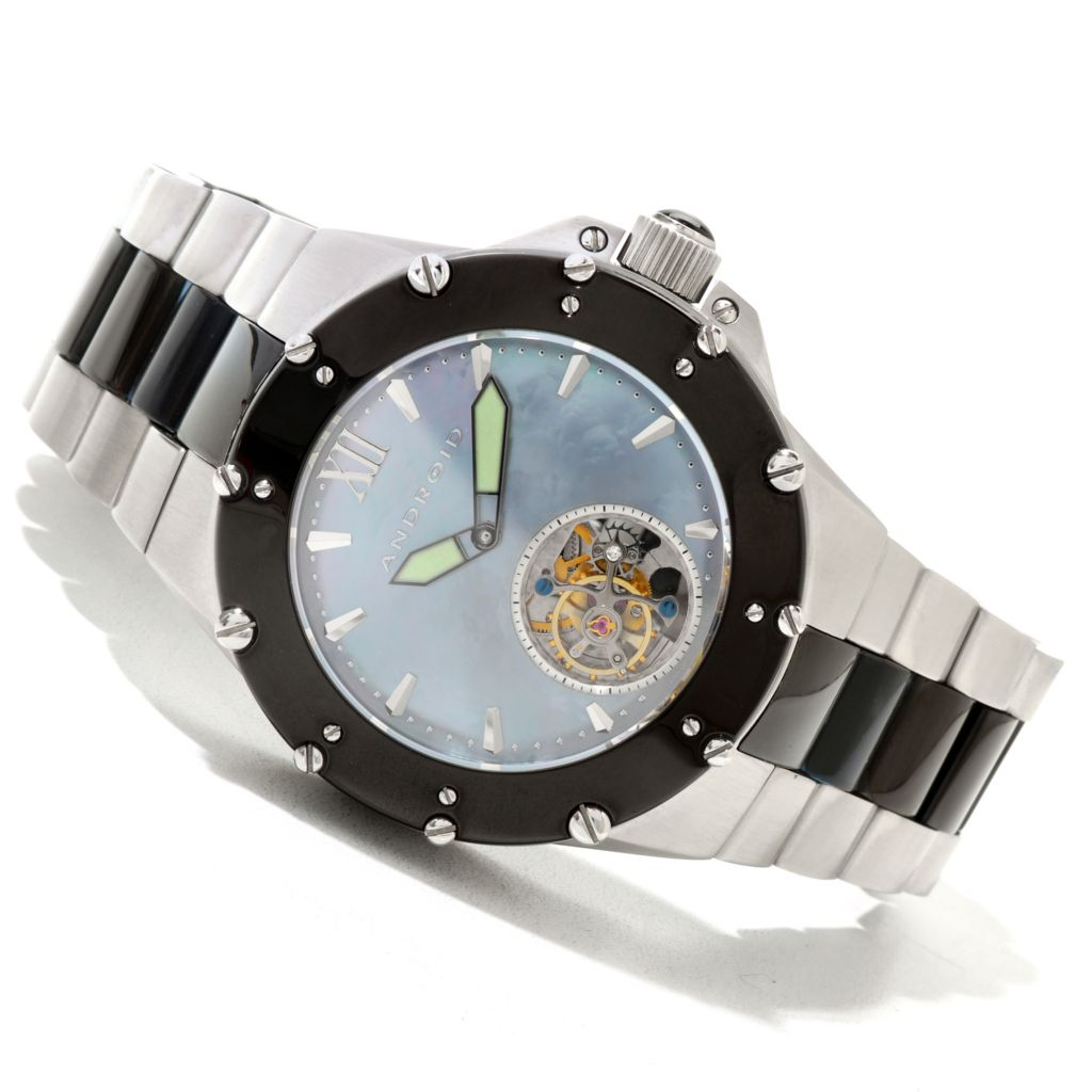 620-078 - Android Men's Divemaster Enforcer Limited Edition Automatic Tourbillon Bracelet Watch
