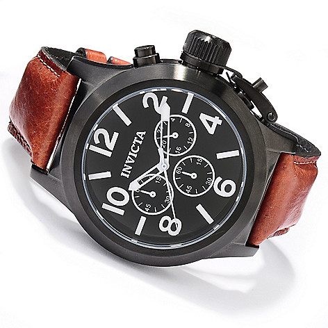 620-143 - Invicta Men's Corduba Quartz Chronograph Stainless Steel Wolffish Strap Watch