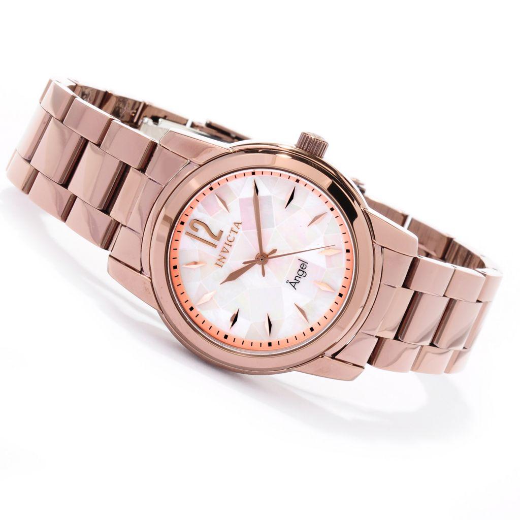 620-192 - Invicta Women's Angel Mosaic Quartz Stainless Steel Bracelet Watch