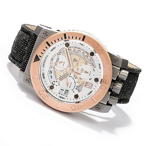 620-320 - Invicta 48mm Jason Taylor Corduba Limited Edition Kevlar Strap Watch w/ 3-Slot Dive Case