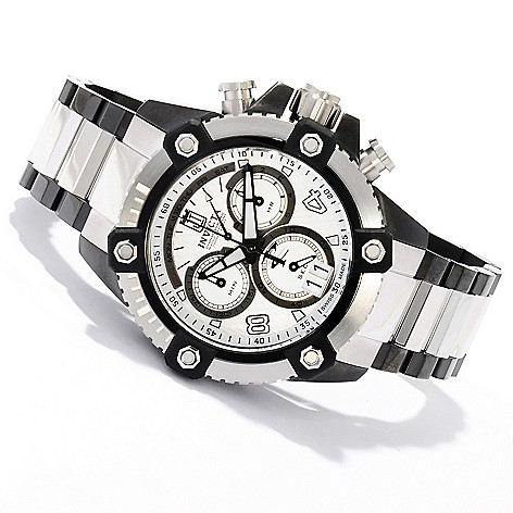 620-335 - Invicta Reserve 48mm Jason Taylor Limited Edition Cctane Bracelet Watch w/ Three-Slot Dive Case