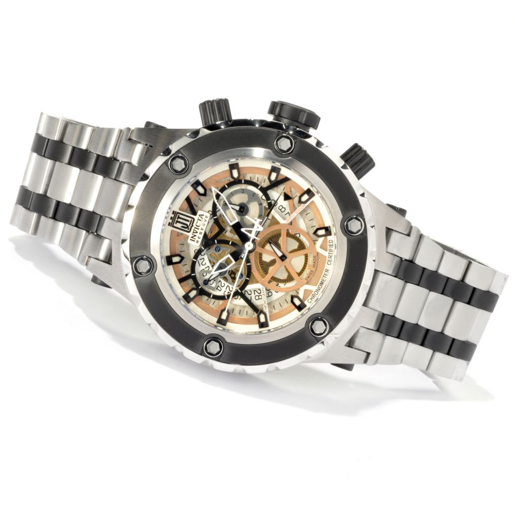 620-343 - Invicta Reserve Specialty Subaqua Jason Taylor COSC Limited Edition Swiss Chronograph Watch w/ Case