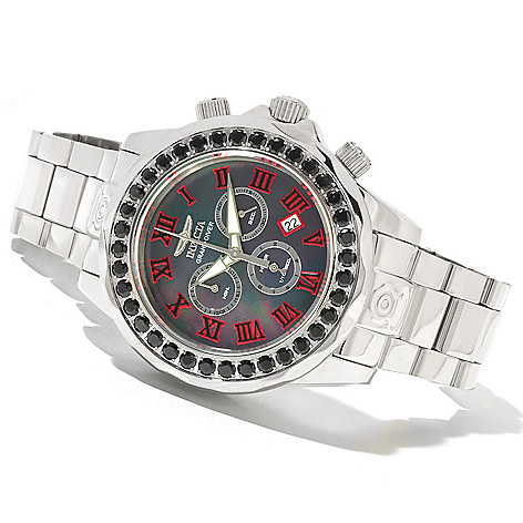 620-367 - Invicta Men's Grand Diver Limited Edition Swiss Made Quartz Chronograph Black Spinel Bracelet Watch