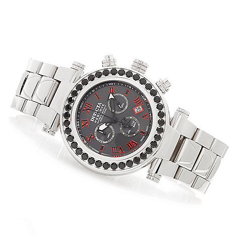 620-371 - Invicta Reserve Subaqua Noma I Limited Edition Black Spinel Stainless Steel Bracelet Watch