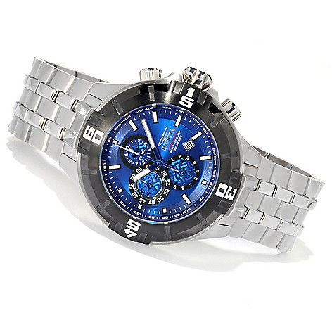 620-661 - Invicta Men's Pro Diver XXL Quartz Chronograph Stainless Steel Bracelet Watch
