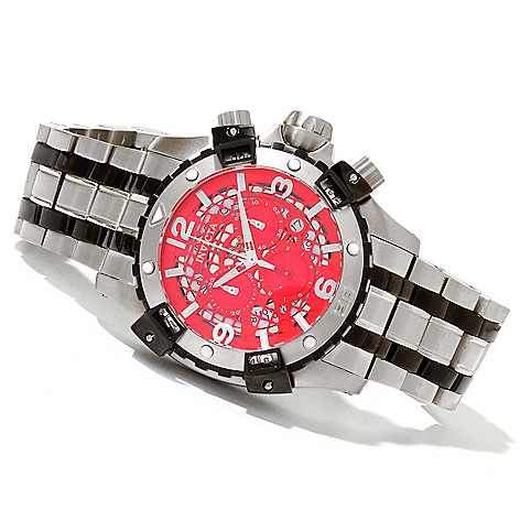 620-682 - Invicta Men's Sea Thunder Quartz Chronograph Stainless Steel Bracelet Watch