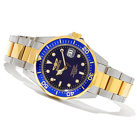 620-843 - Invicta 38mm Pro Diver Classic Quartz Stainless Steel Bracelet Watch