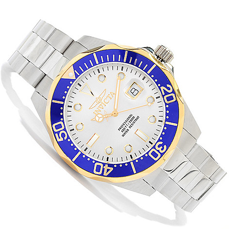 621-150 - Invicta Men's Grand Diver Quartz Stainless Steel Bracelet Watch