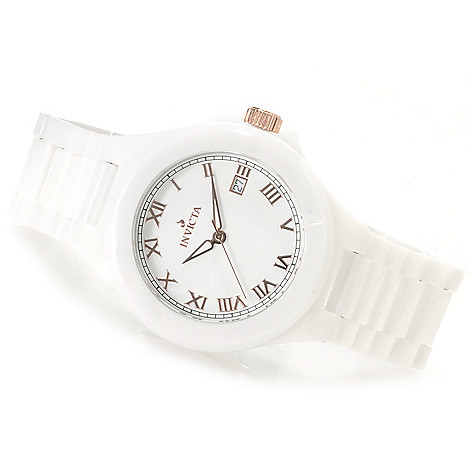 621-155 - Invicta ''Ceramics'' Quartz Bracelet Watch