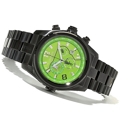 621-169 - Renato Men's T-Rex Generation III Swiss Quartz Stainless Steel Bracelet Watch
