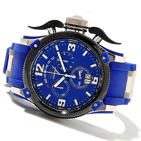 621-392 - Invicta Men's Off Shore Russian Diver Swiss Made Quartz Chronograph Polyurethane Strap Watch