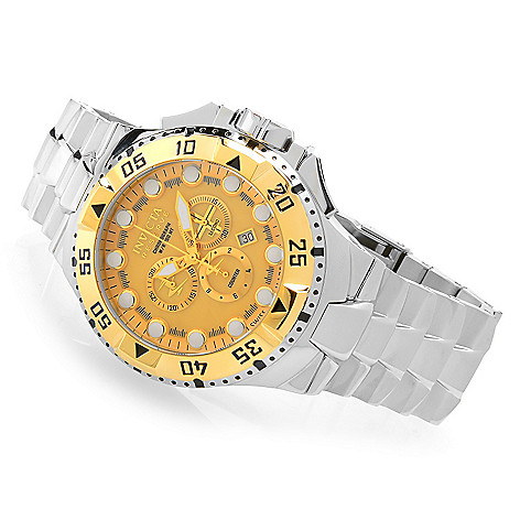 621-428 - Invicta Reserve 50mm Excursion Swiss Made Quartz Chronograph Bracelet Watch