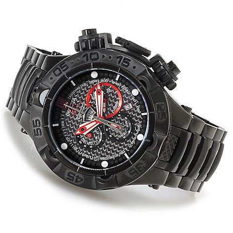 621-535 - Invicta 50mm Jason Taylor Subaqua Noma V Bracelet Watch w/ Three-Slot Dive Case