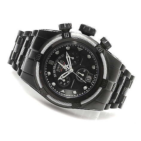 621-536 - Invicta Reserve 52mm Jason Taylor Bolt Zeus Limited Edition Watch w/ Three-Slot Dive Case