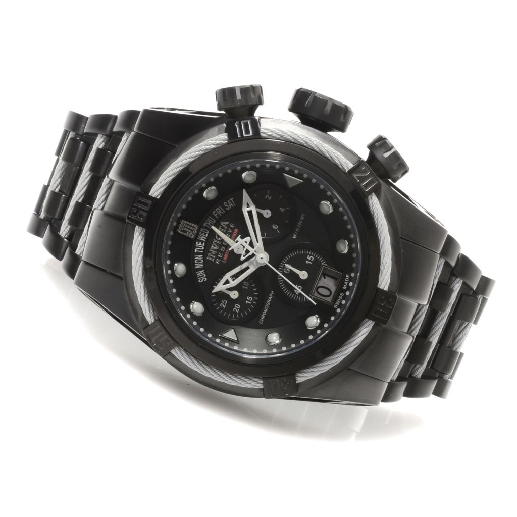 621-536 - Invicta Reserve Men's Jason Taylor Bolt Zeus Limited Edition Watch w/ Three-Slot Dive Case