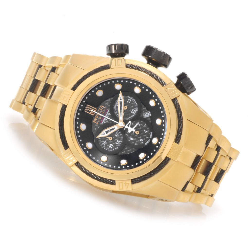 621-539 - Invicta Reserve 52mm Jason Taylor Bolt Zeus Limited Edition Watch w/ Three-Slot Dive Case