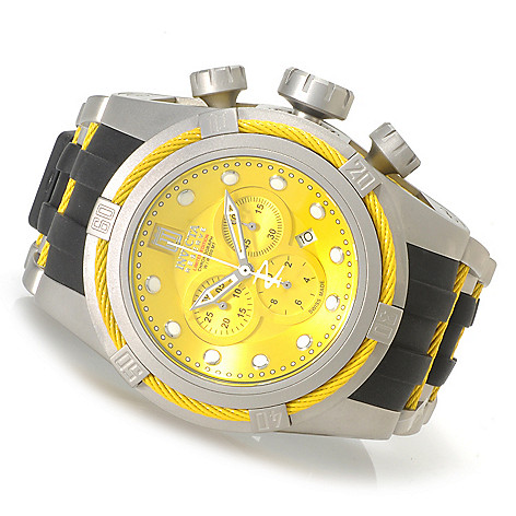 621-540 - Invicta Reserve Men's Jason Taylor Bolt Zeus Limited Edition Strap Watch w/ Three-Slot Dive Case