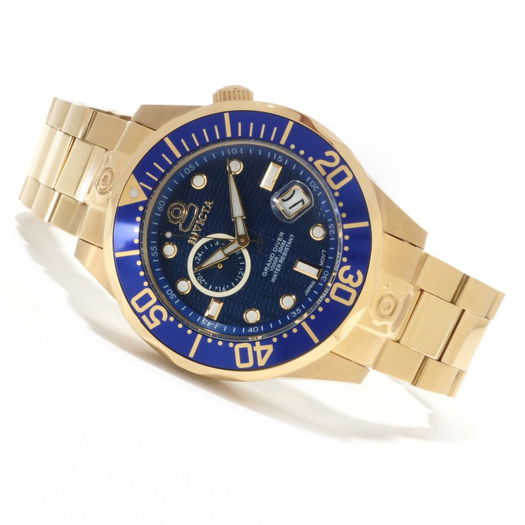 621-676 - Invicta Grand Diver Automatic Stainless Steel Bracelet Watch