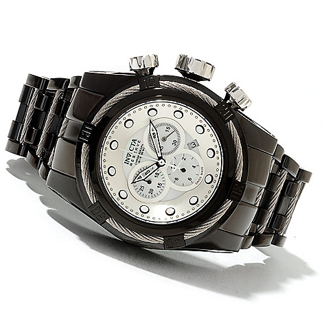 621-725 - Invicta Reserve Bolt Zeus Swiss Made Quartz Chronograph Stainless Steel Bracelet Watch