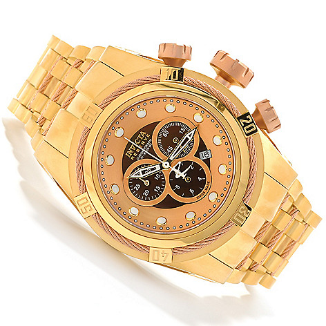 621-728 - Invicta Reserve Bolt Zeus Swiss Made Quartz Chronograph Stainless Steel Bracelet Watch