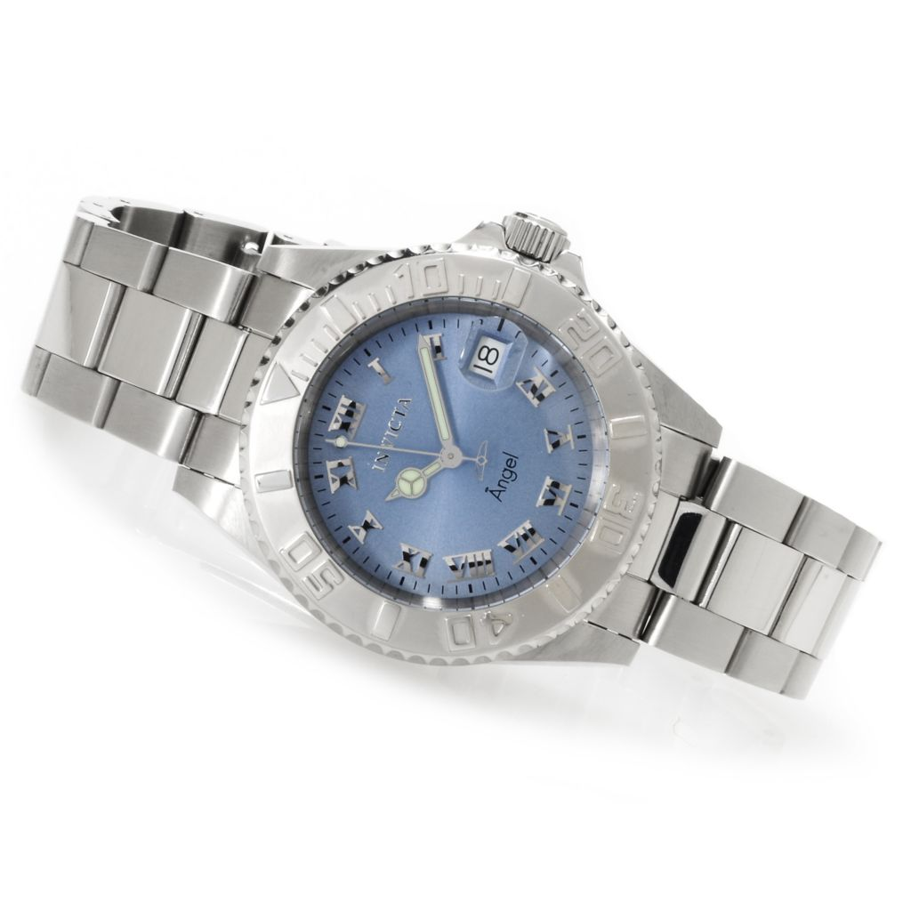 621-811 - Invicta Women's Angel Quartz Stainless Steel Bracelet Watch