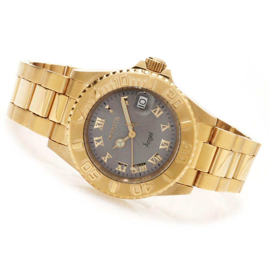 621-814 - Invicta Women's Angel Quartz Stainless Steel Bracelet Watch