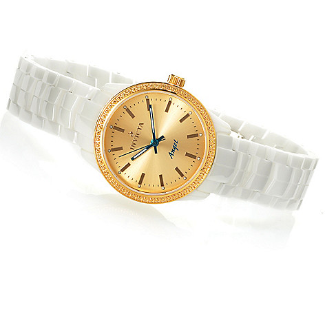 621-831 - Invicta Women's Angel Quartz Ceramic Bracelet Watch